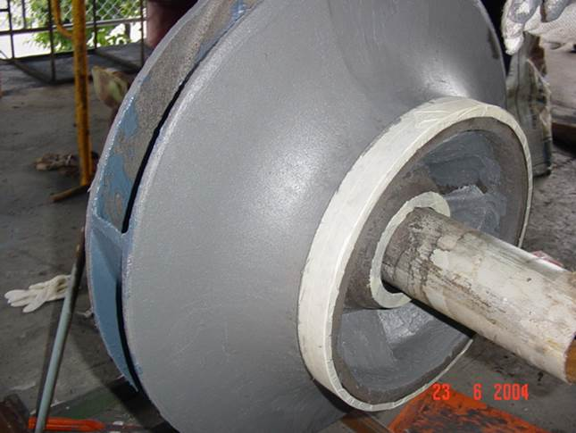 Pump Impeller Cavitation
