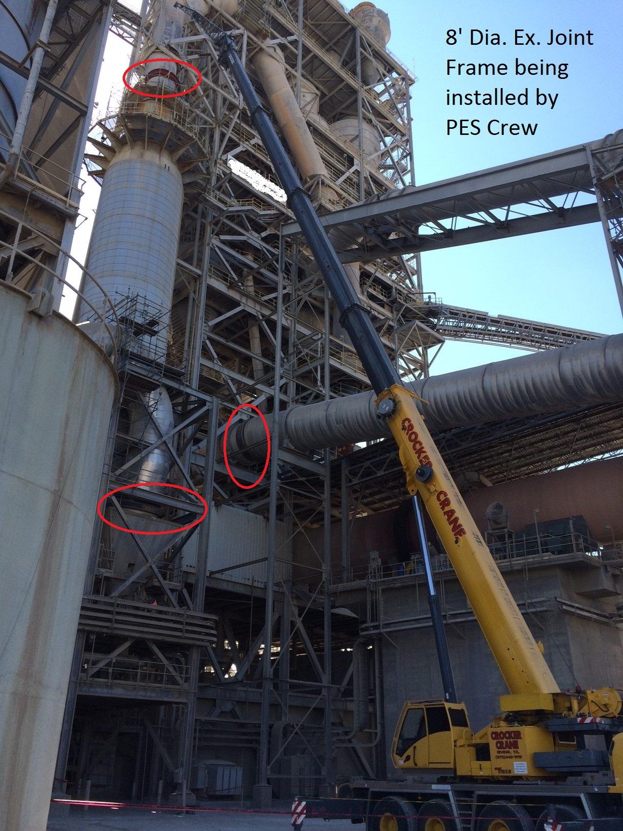 Flue Duct Expansion Joints - Plant, Equipment, & Services