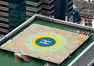 Non-Skid and Anti-Slip Coatings - helicopter landing pads coatings