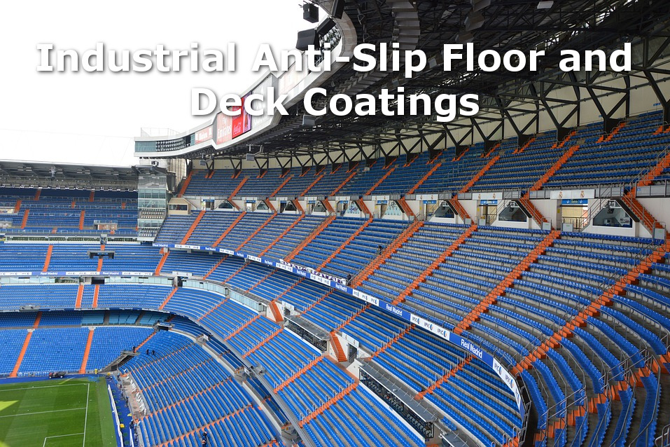 industrial anti-slip floor and deck coatings